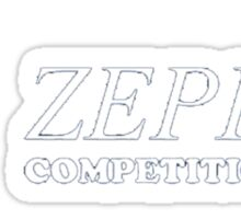 Zephyr Competition Shirt (Their First Competition) Sticker