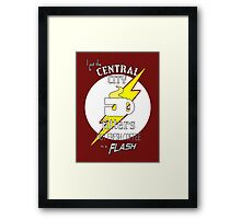 Coffee in a Flash Framed Print