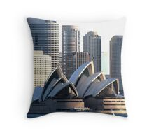 Famous House Throw Pillow