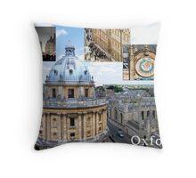 An Oxford Story Throw Pillow