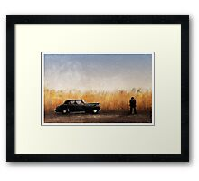 Leave the Gun, Take the cannoli ... Framed Print