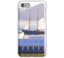 a boat on the roof...(almost) iPhone Case/Skin