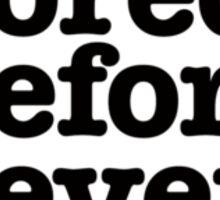 Smiths Lyrics - I was bored - size 2 Sticker