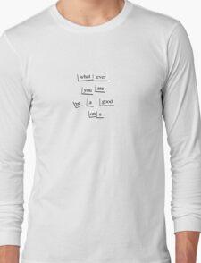 M a g n e t i c T e e Long Sleeve T-Shirt