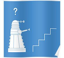 The problem with Daleks Poster