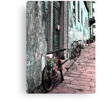 Italy Bicycles  Canvas Print