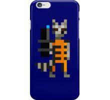 8-Bit Rocket Raccoon iPhone Case/Skin