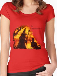 An Adventure?  Women's Fitted Scoop T-Shirt