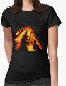 An Adventure?  Womens Fitted T-Shirt