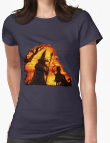 An Adventure?  Womens Fitted T-Shirt