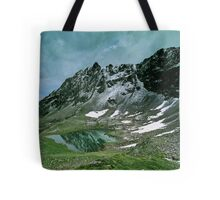 Morning snow at Hochjoch, Austria Tote Bag