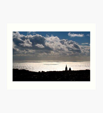 Sky, Sea and Land Art Print
