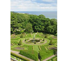 Formal Gardens Dunrobin Castle Photographic Print