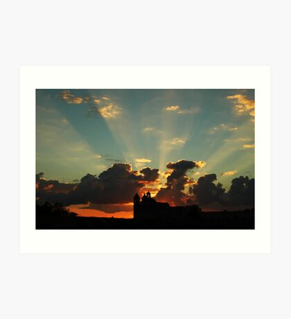 Golden Sunrise Art Print
