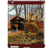 Rishel Covered Bridge iPad Case/Skin