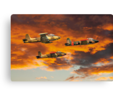 Sky Max SM7005 Strikemaster Mk.80A Royal Saudi Air Canvas Print