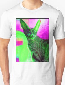 cat with rabbit ears Unisex T-Shirt