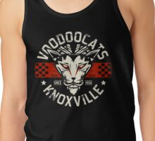 Rockabilly Greaser Voodoocats Racing Team Tank Top