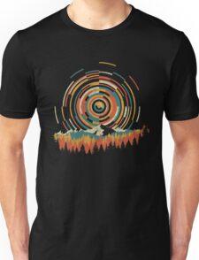 The Geometry of Sunrise Unisex T-Shirt