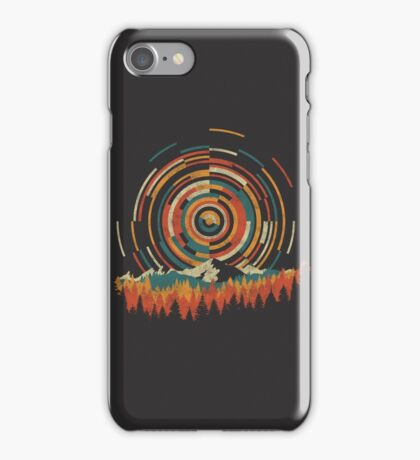 The Geometry of Sunrise iPhone Case/Skin