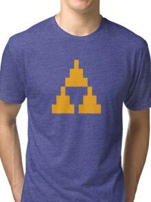 8-Bit Triforce Tri-blend T-Shirt
