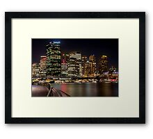 Circular Quay Framed Print