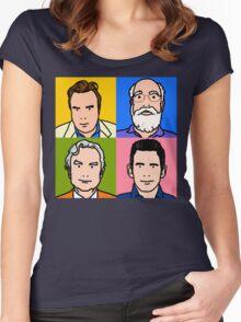 Four Horsemen 2013 - Hitchens, Dennett, Dawkins & Harris Women's Fitted Scoop T-Shirt