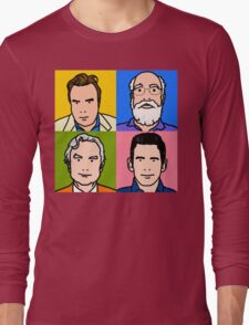 Four Horsemen 2013 - Hitchens, Dennett, Dawkins & Harris Long Sleeve T-Shirt