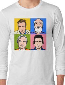Four Horsemen 2013 - Hitchens, Dennett, Dawkins & Harris Long Sleeve T-Shirt