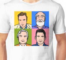 Four Horsemen 2013 - Hitchens, Dennett, Dawkins & Harris Unisex T-Shirt