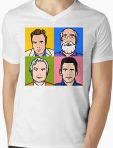 Four Horsemen 2013 - Hitchens, Dennett, Dawkins & Harris Mens V-Neck T-Shirt