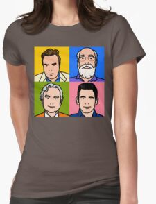 Four Horsemen 2013 - Hitchens, Dennett, Dawkins & Harris Womens Fitted T-Shirt