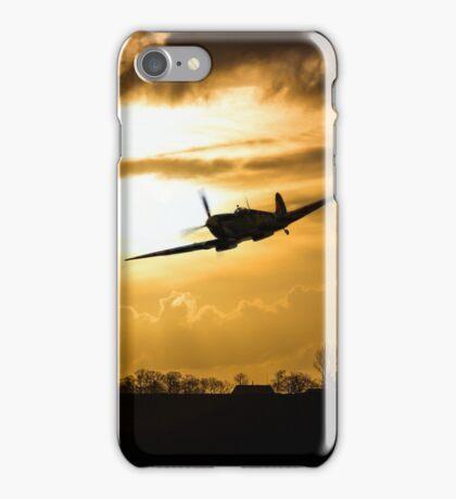 Spitfire lines  iPhone Case/Skin