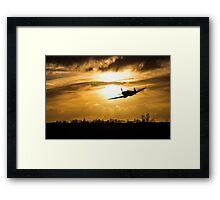 Spitfire lines  Framed Print