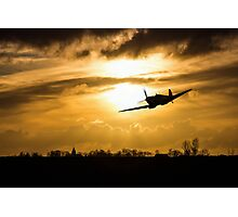 Spitfire lines  Photographic Print