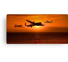 The Battle of Britain Memorial Flight (RAFBBMF) Canvas Print