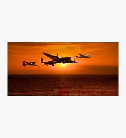 The Battle of Britain Memorial Flight (RAFBBMF) Photographic Print