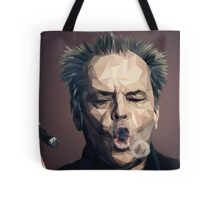 Jack Nicholson - Low poly Tote Bag