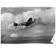 Supermarine Spirfire Mk LFIX - Mono  Poster