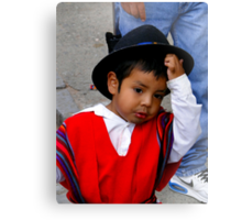Cuenca Kids 566 Canvas Print
