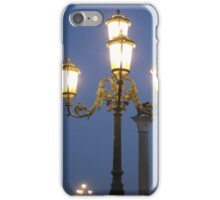 Venice lamp posts iPhone Case/Skin