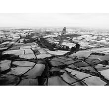 Spitfire Force - Mono   Photographic Print