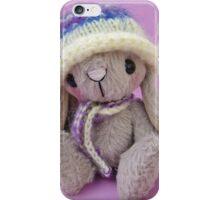 Belinda Bunny Rabbit - Handmade bears from Teddy Bear Orphans iPhone Case/Skin