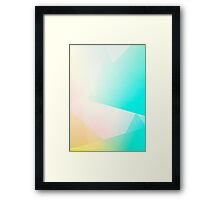 MENTHA / Abstract Graphic Art Framed Print