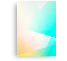 MENTHA / Abstract Graphic Art Canvas Print
