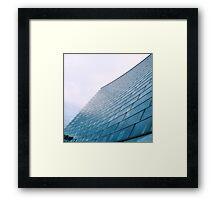 Glass facade Framed Print