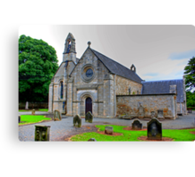 Abercon Church West Side Canvas Print