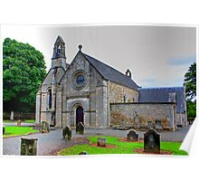 Abercon Church West Side Poster