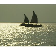 Paired to sail Photographic Print