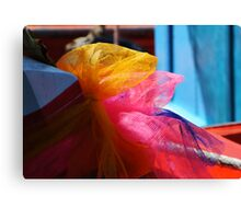 Lucky Ribbons Canvas Print